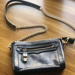 Rebecca Minkoff Metallic Crossbody Purse